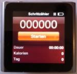 iPod nano Pedometer