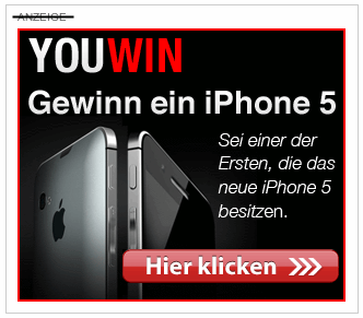 iPhone 5 Gewinnspiel