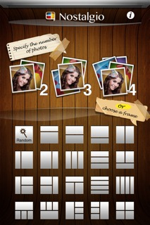Nostalgio App Screenshot