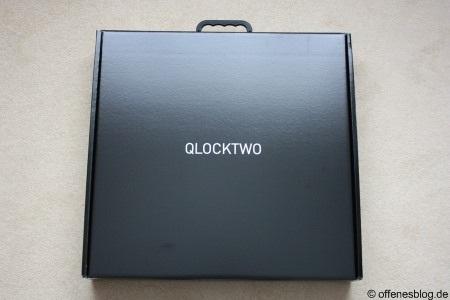 Qlocktwo Verpackung