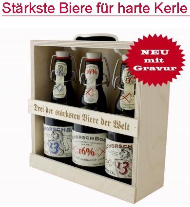 Stärkste Bier für harte Kerle
