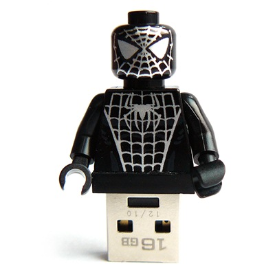 16GB Spiderman Lego USB-Stick