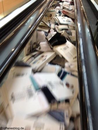 Stauraum im Supermarkt