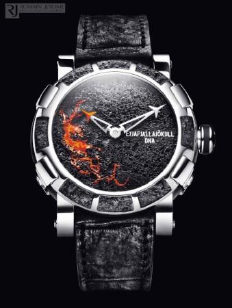 Eyjafjallajökull Uhr von Romain Jerome