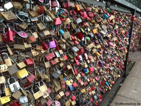Kölner Liebesschlösser