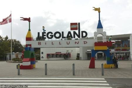 Legoland Billund Eingang