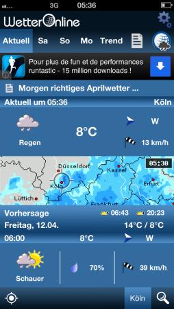 WetterOnline App
