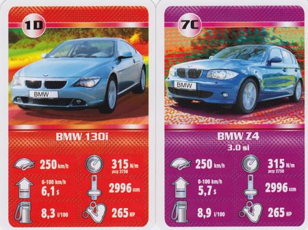 Kartenspiel BMW