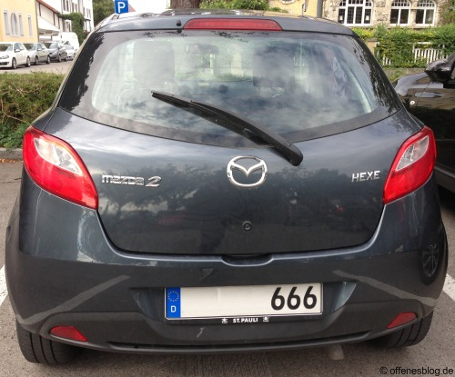 Mazda Hexe 666