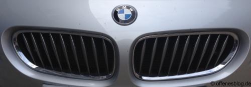 BMW Nieren/Grill Austausch Ende