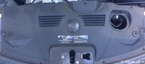 BMW Z4 Motorraum