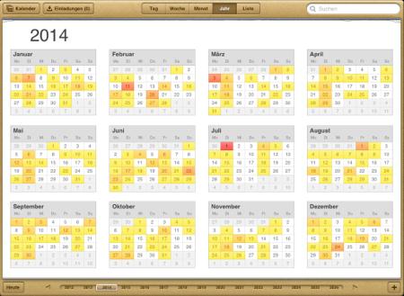 Brückentage Kalender 2014