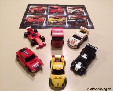 Ferrari LEGO® Shell Autos