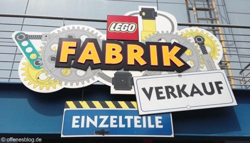 LEGOLAND® Deutschland - Einzelteile Fabrik