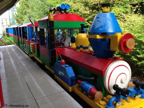 LEGOLAND® Deutschland - Legozug