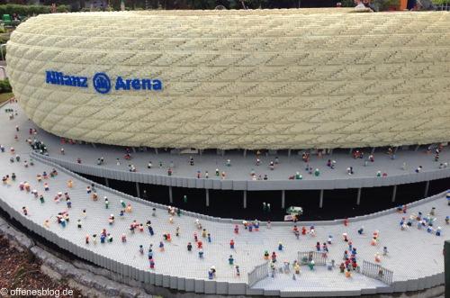 LEGOLAND® Deutschland - MINILAND Allianz Arena