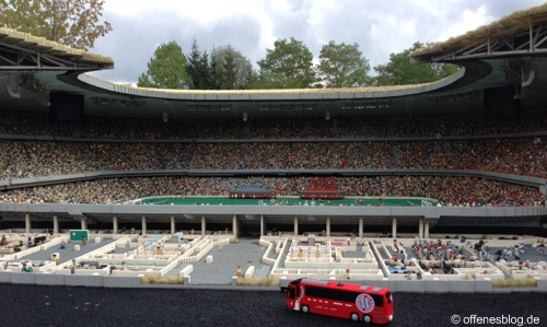 LEGOLAND® Deutschland - MINILAND Allianz Arena Innen