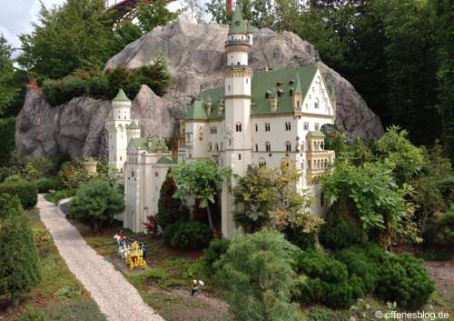 LEGOLAND® Deutschland - MINILAND Schloß Neuschwanstein