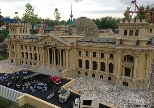 LEGOLAND® Deutschland - MINILAND Berlin Reichstag