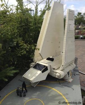 LEGOLAND® Deutschland Star Wars - Imperiale Raumfähre