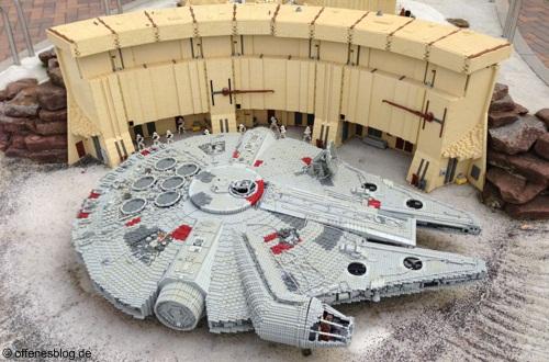 LEGOLAND® Deutschland Star Wars - Millenium Falke