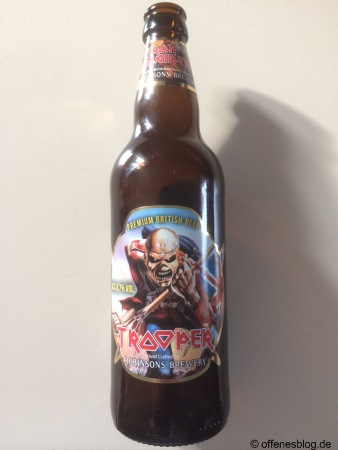 Iron Maiden Trooper Bier