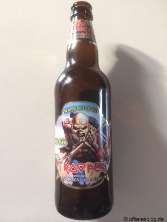 Iron Maiden Trooper Bier
