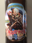 Iron Maiden Trooper Bier Etikett