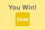 You win 2048