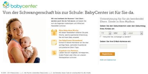 BabyCenter.de Newsletter