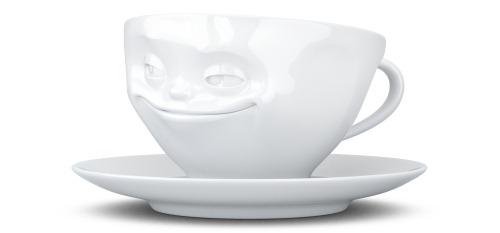 Kaffee Tasse grinsend von tassen.tv