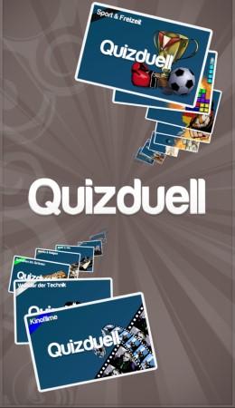 Quizduell Startbildschirm