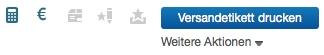 eBay Versandetikett drucken