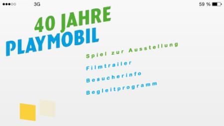 40 Jahre PLAYMOBIL - App zur Ausstellung