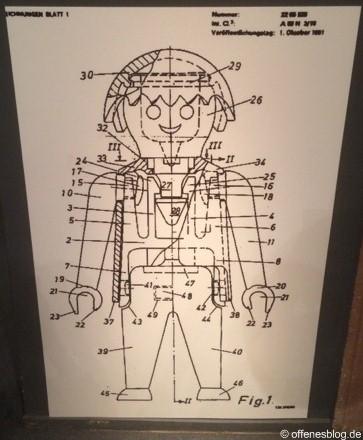 40 Jahre PLAYMOBIL: Figur Zeichnung