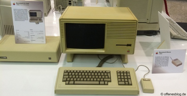 Macintosh XL (Lisa) (1983) & Macintosh Mouse (1984)