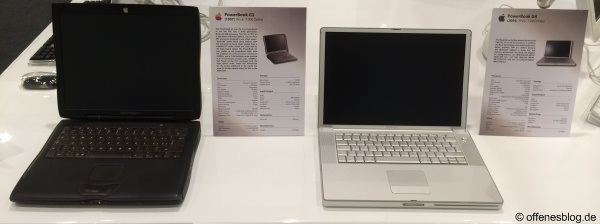 PowerBookG3 (1997) PowerBook G4 (2004)