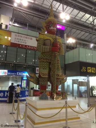 Flughafen Suvarnabhumi