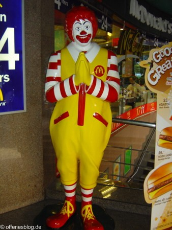 Bangkok Ronald McDonald Clown