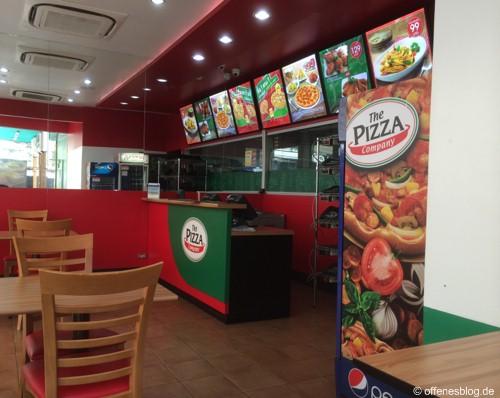 Bangkok The Pizza Company