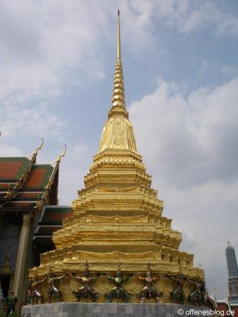 Bangkok - Großer Palast - Chedi