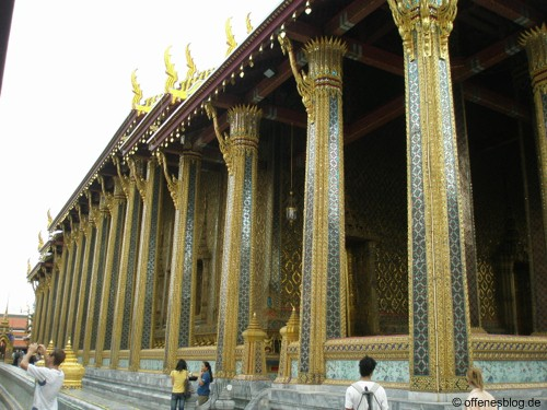 Bangkok - Großer Palast Gold