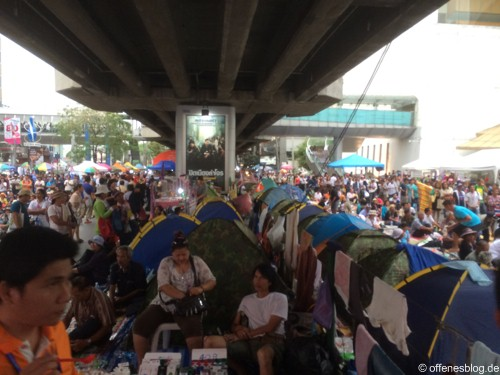 Bangkok - Shutdown 2014 Camps