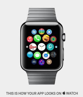 App Demo on Apple Watch