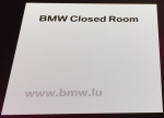 BMW Closed Room
