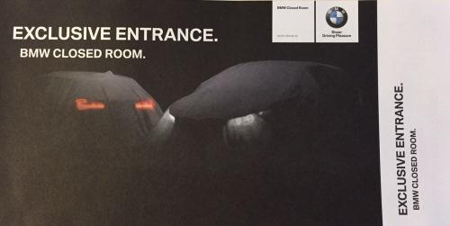 BMW Exclusive Entrance - Closed Room