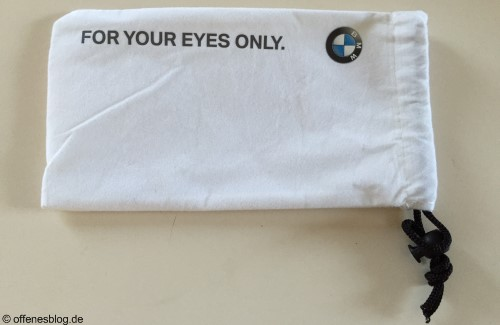 BMW Closed Room - For your eyes only