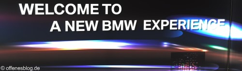 BMW New Experience - Closed Room