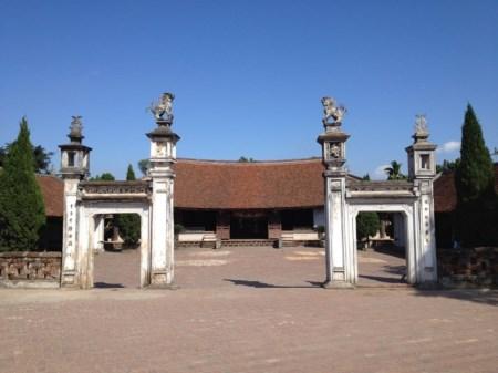 Tempel im Ortskern