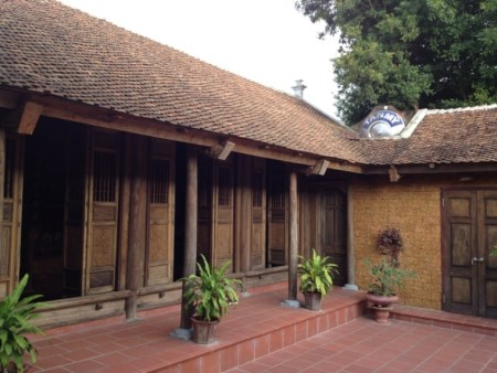 Traditionelles Wohnhaus in Duong Lam